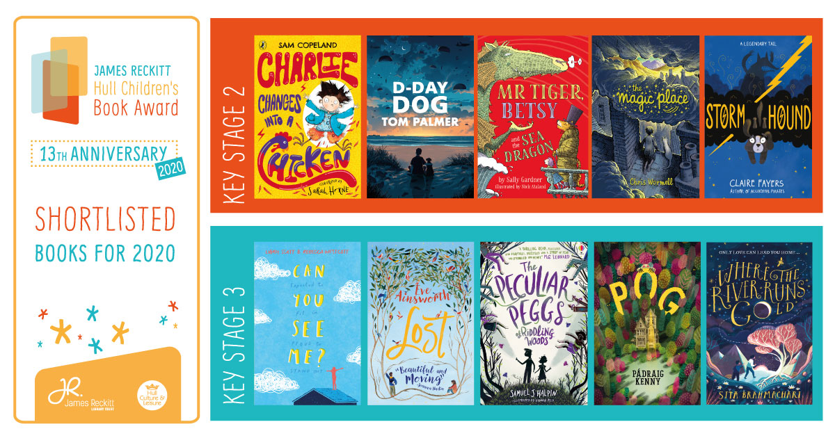 JAMES RECKITT HULL CHILDRENS BOOK AWARD SHORTLIST 2020